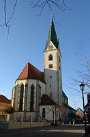 Stadtpfarrkirche St. Johannes Baptist in 88348 Saulgau (03.02.2002)