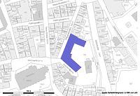 Lageplan (Vorlage LV-BW und RPS-LAD) / Bebenhäuser Pfleghof in 72070 Tübingen