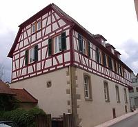Nordflügel / Dekanat in 74354 Besigheim (2007 - Denkmalpflegerischer Werteplan, Gesamtanlage Besigheim, Regierungspräsidium Stuttgart )
