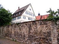 Amtsgerichtsgebäude in 74354 Besigheim (02.07.2007 - Denkmalpflegerischer Werteplan, Gesamtanlage Besigheim)