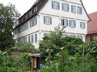 Garten zum Anwesen / Amtsgerichtsgebäude in 74354 Besigheim (30.09.2015 - Denkmalpflegerischer Werteplan, Gesamtanlage Besigheim)
