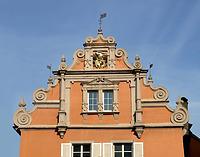 Wohn-Geschäftshaus (Renaissancegiebel) in 78426 Konstanz (25.01.2016 - Stefan King)