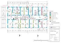 Bauphasenplan zum Erdgeschoss des Schafhofs / Ehemaliger Schafhof in 71394 Kernen-Rommelshausen (11.12.2012 - Markus Numberger, Esslingen)