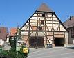 Südansciht / Kelter Großglattbach in 75417 Mühlacker, Großglattbach (21.07.2004)