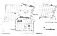 Kappellenbau-Wohnhaus-Stallscheuer in 78628 Rottweil, Altstadt (24.02.2016 - Stefan King)