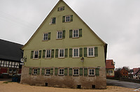 Südansicht / Gasthaus zum Lamm in 74532 Illshofen, Großallmerspann (07.02.2007)