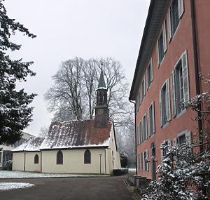 Schloss Stegen-Weiler, ehem. Kagenecksches Schloss in 79252 Stegen (04.03.2016 - Stefan King)