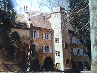 Schloß / Schlosskapelle, Schloss in 79189 Bad Kromzingen, Bad Krozingen (15.03.2016 - LDA Freiburg, Dokumentationsarchiv)