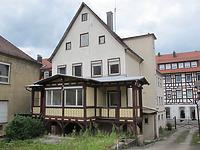 Ansicht des Gebäudes von Süden (2012) / Wohnhaus in 73525 Schwäbisch Gmünd (17.07.2012 - Markus Numberger, Esslingen)