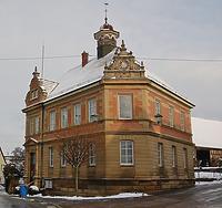 Rathaus in 74243 Langenbrettach, Brettach (02.02.2010)