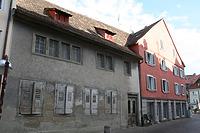 Straßenfassade / Wohnhaus Hüetlinstraße 2, 78462 Konstanz in 78462 Konstanz (28.08.2015 - winterfuchs)