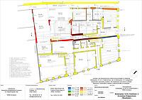 Bauphasenplan Erdgeschoss / Wohnhäuser Bodanplatz 14 und 16 in 78462 Konstanz (05.04.2016 - winterfuchs)