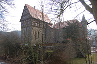 Schloss Rechenberg in 74597 Stimpfach, Schwäbisch Hall (09.02.2011)