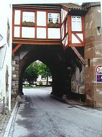 Mühlentor mit Kaisertörle in 78199 Bräunlingen (28.04.2016 - Sumser, Dipl.Ing. Hermann (Freier Architekt))
