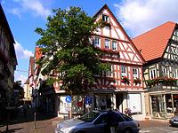 Wohn- und Geschäftshaus in 74354 Besigheim (12.07.2007 - Denkmalpflegerischer Werteplan)