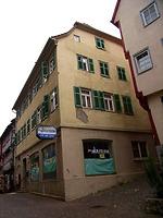 """Wohn- und Geschäftshaus, ehemaliges """"Café Lauster"""" in 74354 Besigheim (27.07.2007 - Denkmalpflegerischer Werteplan)"""