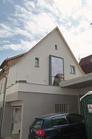 Rücksete, Ansicht von Westen / Wohnhaus in 74354 Besigheim (2017 - M. Haußmann)