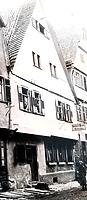Historische Aufnahme, Ansicht von Osten / Wohnhaus in 74354 Besigheim (ca.1930 - Stadtarchiv Besigheim)