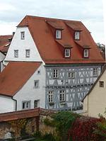 Ansicht von Süden / Wohn- und Geschäftshaus in 74354 Besigheim (19.08.2014 - Archiv Haußmann)