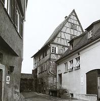 historische Aufnahme / Abgegangenes Wohnhaus, jetzt Verwaltungsbau in 74354 Besigheim (Stadtarchiv Besigheim)