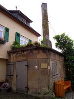 Backhaus Auf der Mauer / Backhaus in 74354 Besigheim (12.11.2007 - Denkmalpflegerischer Werteplan, Gesamtanlage Besigheim, Regierungspräsidium Stuttgart)