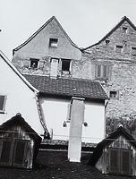 Ansicht von Westen (von der Mühlgasse) / Wohnhaus in 74354 Besigheim (Stadtarchiv Besigheim)