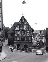 (historische) Ansicht von Nordwest / Wohn- und Geschäftshaus in 74354 Besigheim (Stadtarchiv Besigheim)