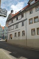 Ansicht von Süden / Wohn- und Geschäftshaus in 74354 Besigheim (04.07.2016 - H.-V. Kraemer)