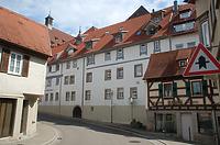 Ansicht von Süden / Wohn- und Geschäftshaus in 74354 Besigheim (30.06.2016 - H.-V. Kraemer)
