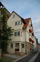 Ansicht von Westen / Wohnhaus, ehemalige Scheuer in 74354 Besigheim (Archiv H.-V. Kraemer)