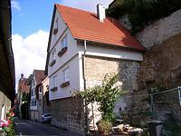 Ansicht von Süden / Wohnhaus, ehemalige Scheuer in 74354 Besigheim (12.07.2007 - Denkmalpflegerischer Werteplan, Gesamtanlage Besigheim, Regierungspräsidium Stuttgart)