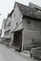 (historische) Ansicht von Süden / Wohnhaus, ehemals Wohnhaus und Scheuer in 74354 Besigheim (27.05.2014 - Stadtarchiv Besigheim)
