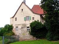 Ansicht von Südosten / Wohnhaus in 74354 Besigheim (02.07.2007 - Denkmalpflegerischer Werteplan, Gesamtanlage Besigheim, Regierungspräsidium Stuttgart)