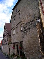 Ansicht von Süden / Steinhaus, Torhaus, jetzt Wohnhaus in 74354 Besigheim (12.07.2007 - Denkmalpflegerischer Werteplan, Gesamtanlage Besigheim, Regierungspräsidium Stuttgart)