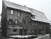 Strassenseite (Nord-Seite) / Abgegangenes Wohnhaus mit Scheune in 74354 Besigheim (20.08.2014 - Stadtarchiv Besigheim)