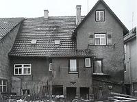 Rückseite (Südseite) / Abgegangenes Wohnhaus mit Scheune in 74354 Besigheim (20.08.2014 - Stadtarchiv Besigheim)