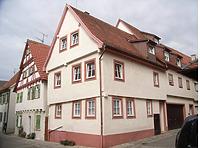 Wohnhaus in 74354 Besigheim (Denkmalpflegerischer Werteplan,  Gesamtanlage Besigheim  Regierungspräsidium Stuttgart)