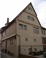 Wohnhaus Nord-Ostseite / Wohnhaus und Scheune in 74354 Besigheim (Denkmalpflegerischer Werteplan,  Gesamtanlage Besigheim  Regierungspräsidium Stuttgart)