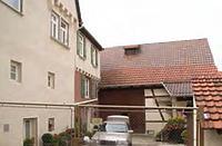 Hof mit Scheune / Wohnhaus und Scheune in 74354 Besigheim (Denkmalpflegerischer Werteplan,  Gesamtanlage Besigheim  Regierungspräsidium Stuttgart)