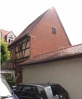 Nord-Westseite / Scheune in 74354 Besigheim (Denkmalpflegerischer Werteplan,  Gesamtanlage Besigheim  Regierungspräsidium Stuttgart)