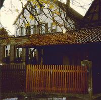 Ostseite vor dem Umbau 1960 / Kindergarten im Bühl in 74354 Besigheim (Ev. Oberkirchenrat Stuttgart Bau u. Gemeindeaufsicht)