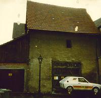 Scheune Nordseite um 1960 / Kindergarten, ehemals Scheune in 74354 Besigheim (Ev. Oberkirchenrat Stuttgart Bau u. Gemeindeaufsicht)