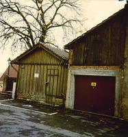 Ostseite von Bühl 12 um 1960 / Kindergarten, ehemals Scheune in 74354 Besigheim (Ev. Oberkirchenrat Stuttgart Bau u. Gemeindeaufsicht)
