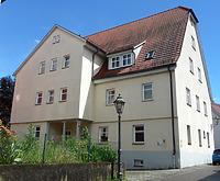 Ansicht von Nordwest / Verwaltungsgebäude, ehemals Krankenhaus in 74354 Besigheim (16.06.2016 - M. Haußmann)