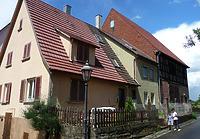 Südwesten / Wohnhaus und Scheune in 74354 Besigheim (16.06.2016 - M.Haußmann)