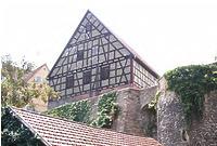 Ostseite der Scheune / Wohnhaus und Scheune in 74354 Besigheim (28.06.2016 - Denkmalpflegerischer Werteplan,  Gesamtanlage Besigheim  Regierungspräsidium Stuttgart)