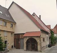 Westseite / Stadtarchiv (ehemalige Scheune) in 74354 Besigheim (16.09.2016 - M.Haußmann)