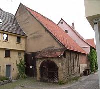 vor dem Umbau / Stadtarchiv (ehemalige Scheune) in 74354 Besigheim (Denkmalpflegerischer Werteplan,  Gesamtanlage Besigheim  Regierungspräsidium Stuttgart)
