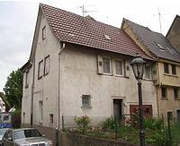 Süd-West Seite / Wohnhaus in 74354 Besigheim (Denkmalpflegerischer Werteplan,  Gesamtanlage Besigheim  Regierungspräsidium Stuttgart)
