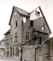 Süd-Westseite, vor dem Abbruch 19 / Abgegangenes Wohnhaus in 74354 Besigheim (Stadtarchiv Besigheim)